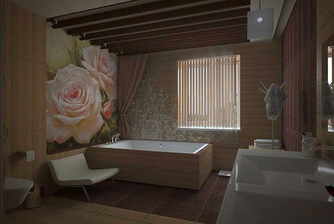 дизайн керамики ванной комнати