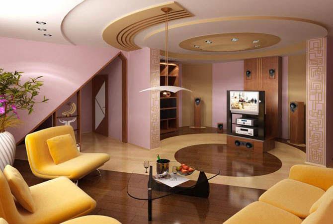 дизайн в комнате выстроена комната