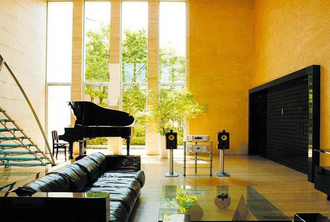 интерьер комнаты бирюзовый цвет