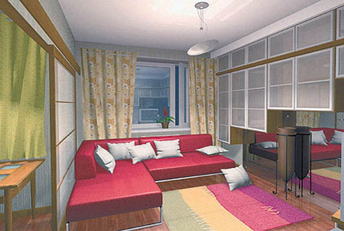 примерные перепланировки однокомнатных квартир