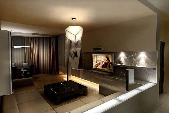 дизайн проект трех комнатной квартиры