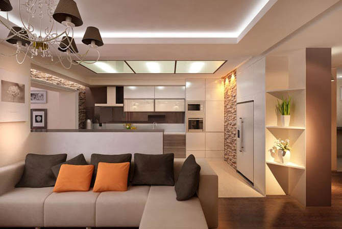 интер дизайн квартир в панельных домах