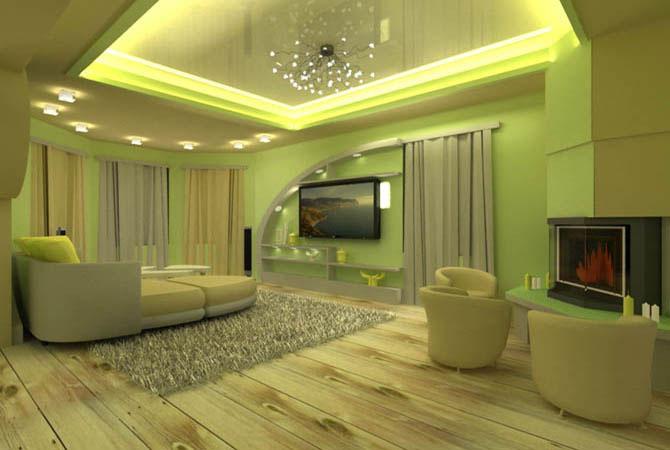 дизайн однокомнатной квартиры серия111m