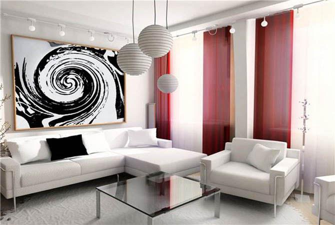 создание интерьера в комнате по фэн-шую