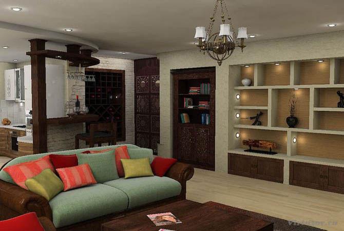 интерьер квартиры стиль современный