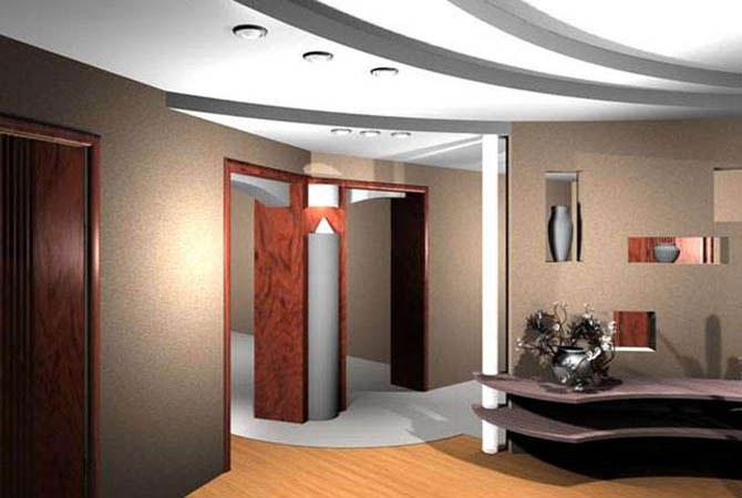 дизайн проект квадратная комната