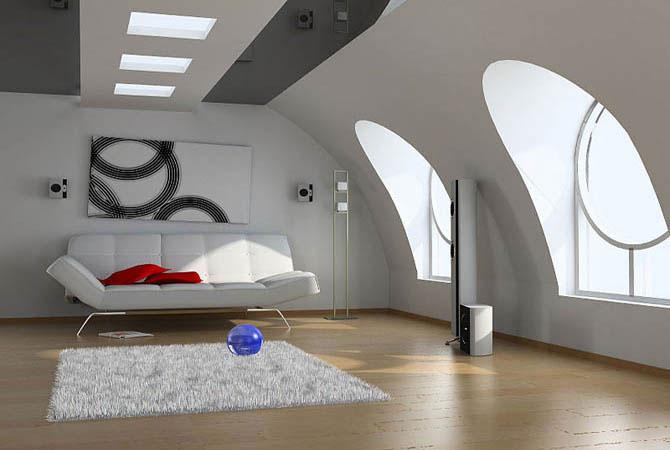 романтический стиль в интерьере комнаты