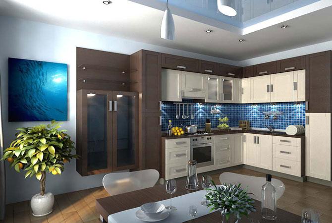 фото с дизайном трёхкомнатной квартиры