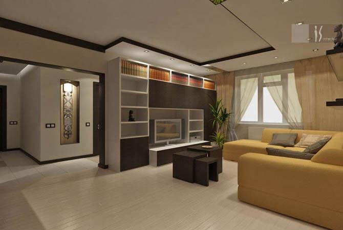 стиль модерн в интерьере дома