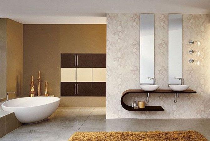 дизайн интерьера квартиры с аквариумом