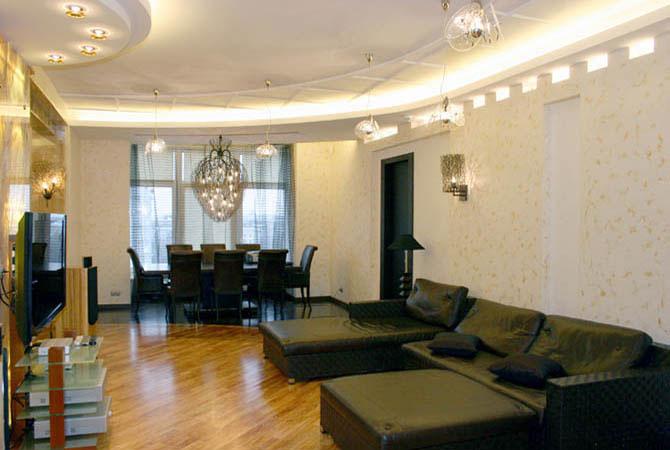 дизайн квартир в бело черном тоне