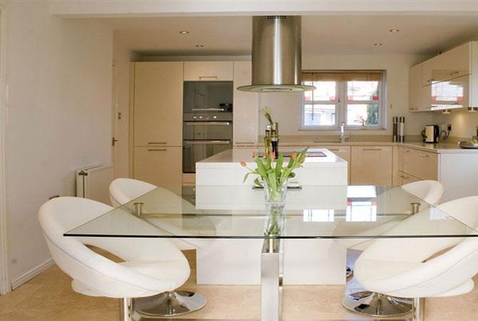 дизайн кухни сместе с залом в квартире