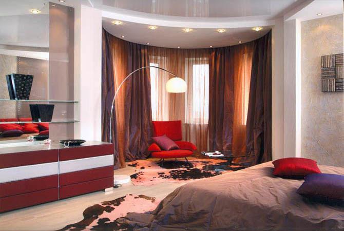 дизайн 2-хр комнатных квартир
