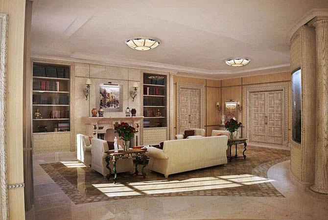 дизайн проект 3-х комнатной квартиры 58 квм