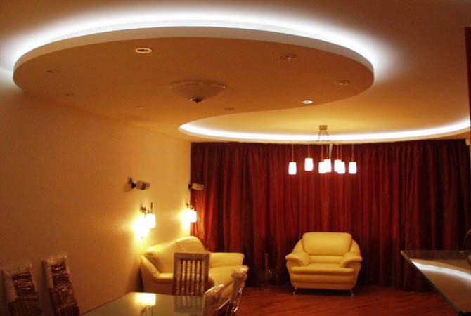 люстры в классическом интерьере квартиры