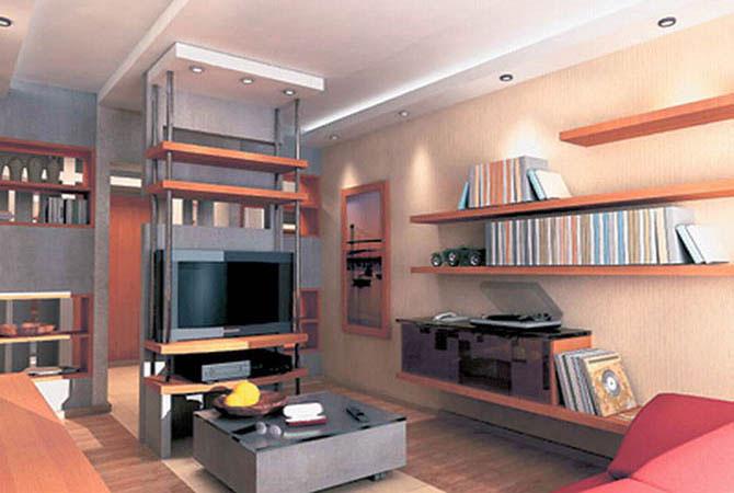 эскизы дизайна однокомнотных квартир