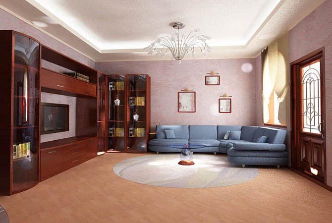 дизайн-проект интерьера 3-х комнатной квартиры улучшенной планировки