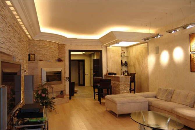 дизайн проект в однокомнатных квартир фото