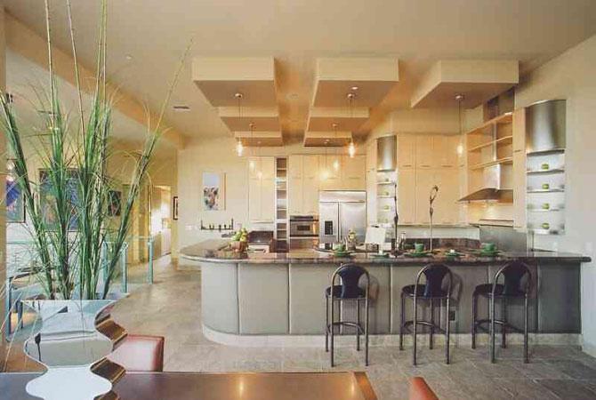 Дизайн кухни фото цвет венге