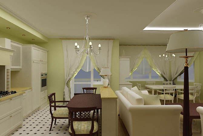 дизайн комнат в европейском стиле