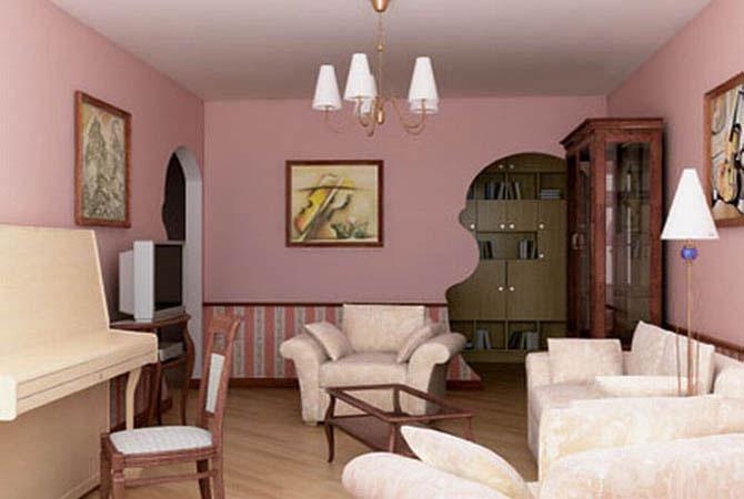 дизайн 3-комнатной квартиры 72 квм