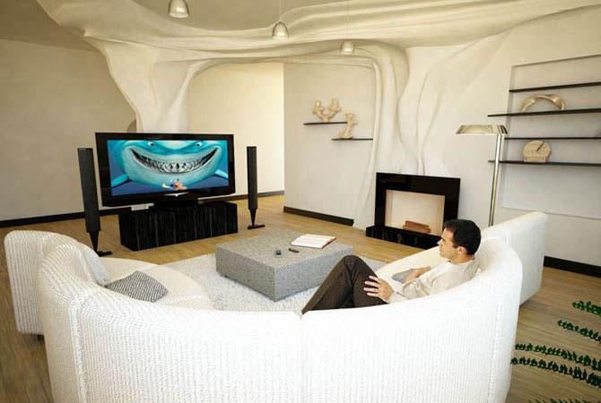 варианты дизайна 1-комнатной квартиры 30 квм