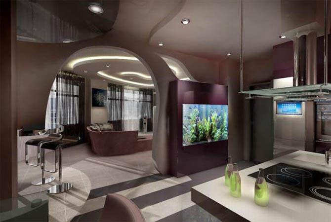 интерьер однокомнатной квартиры п 46 м