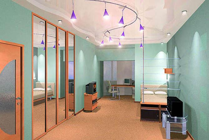 интерьер детской комнаты - 3d max