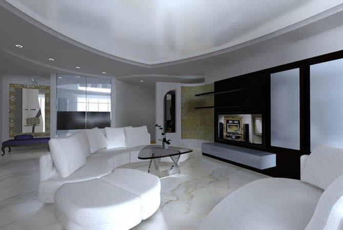 дизайн и интерьер котеджей домов