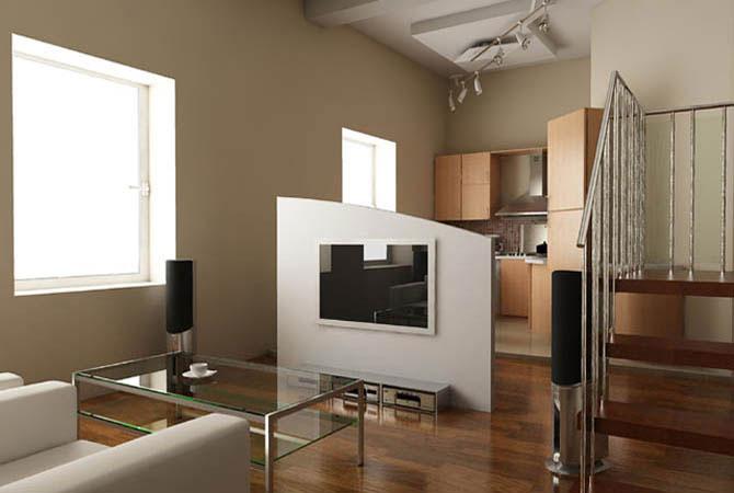 фото интерьера квартир c комнатными растениями