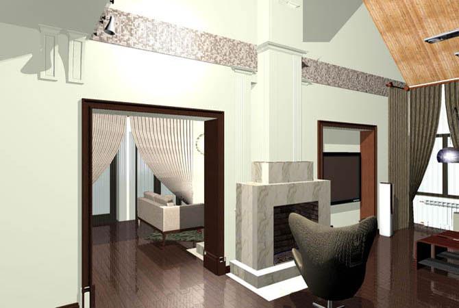 дизайн кухонной комнаты фото