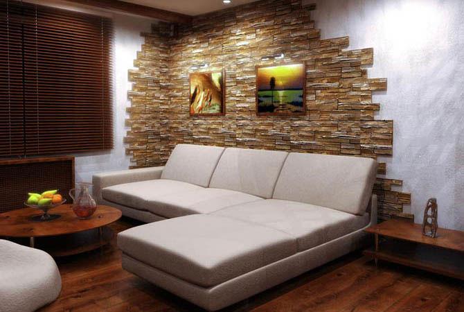 интерьер гостинной малогабаритной квартиры