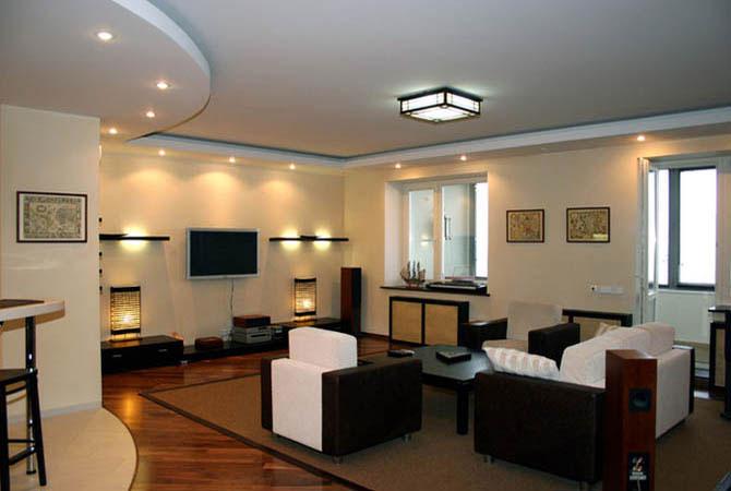 дизайна интерьера однокомнатных квартир