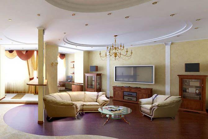 образцы дизайна малогаборитных комнат