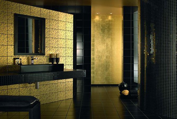 дизайн кафеля для ванной комнаты