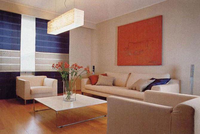 черно-белый интерьер квартиры московкой планировки